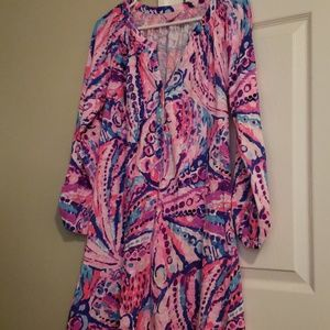 Lilly Pulitzer long sleeve essie dress